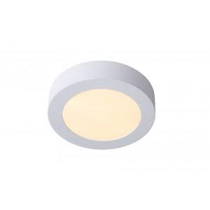 LED Deckenleuchte weiß, Deckenlampe weiß, Durchmesser 18 cm