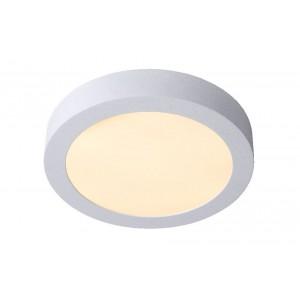 LED Deckenleuchte weiß, Deckenlampe weiß, Durchmesser 24 cm