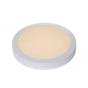 LED Deckenleuchte rund weiß, Deckenlampe weiß, Durchmesser 30 cm