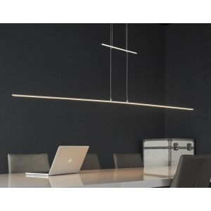 LED Hängelampe höhenverstellbar, LED Pendelleuchten, Breite 120 cm