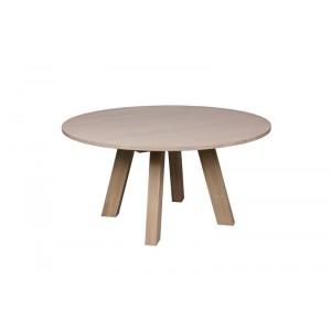 Tisch rund Massivholz Eiche,  Esstisch rund Massivholz, Durchmesser 150 cm