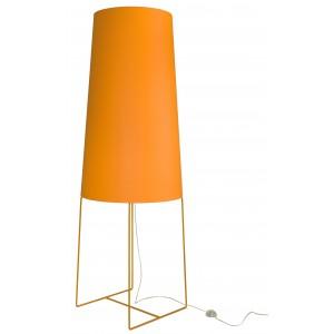 XXL Stehleuchte orange, moderne Stehlampe orange, Stehlampe in fünf verschiedenen Farben
