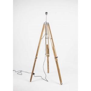 Lampenfuß  für eine Stehlampe, Stehlampe Naturholz