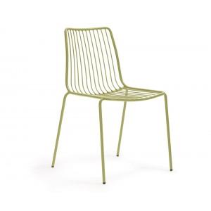 Stuhl grün Metall stapelbar, Gartenstuhl grün Metall