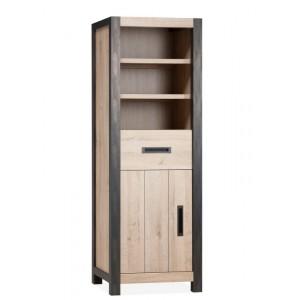 Schrank Industriedesign,  Bücherschrank Industriedesign, Breite 70 cm