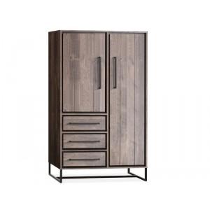 Schrank Industriedesign,  Wohnzimmerschrank Industriedesign, Breite 100 cm