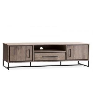 TV Schrank Metall Industriedesign,  Fernsehschrank Industriedesign, Breite 189 cm