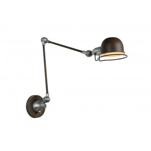 Wandlampe Rost Industrie, Wandleuchte Rost-braun Industriedesign