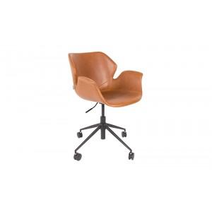 Bürostuhl braun, Stuhl braun, Schreibtischstuhl braun