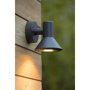 Außenleuchte schwarz, Wandleuchte schwarz Landhausstil,  Wandlampe schwarz Außenbeleuchtung