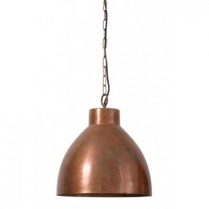 Moderne Pendelleuchte Kupfer-Farbe, Hängelampe Kupfer vintage, Ø 40 cm