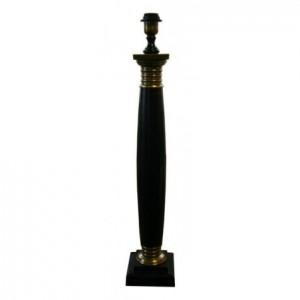Lampenfuß Schwarz-Bronze, für eine Tischleuchte, Höhe 70 cm