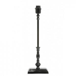 Lampenfuß schwarz, Tischleuchte schwarz, Höhe 56 cm