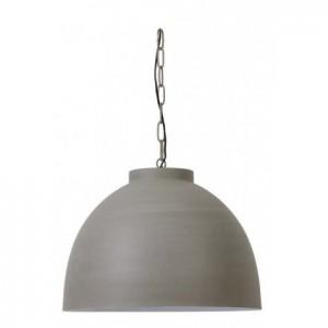 XXL Pendelleuchte beton Metall, Hängeleuchte Metall, Hängelampe Metall beton, Durchmesser 60 cm