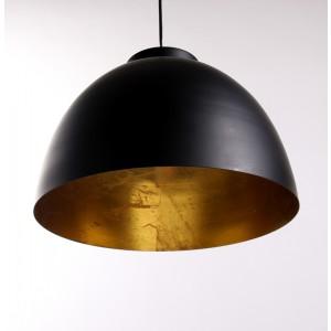 Moderne Pendelleuchte, Hängelampe schwarz-gold, Durchmesser 30 oder 45 cm