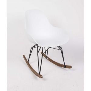 Design Schaukelstuhl, Sessel mit Armlehne, Sitzhöhe 42 cm